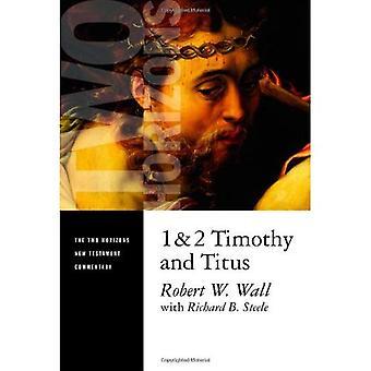 1 och 2 Timothy och Titus (två horisonter Nya testamentets kommentarer)