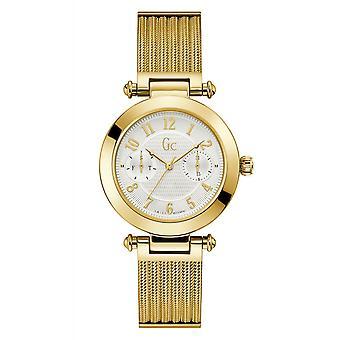 GC PrimeChic Y48003L7MF Watch-naisten Gold Steel monitoimilaitteet Watch