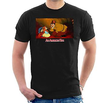 An American Tail Papa Talking To Tanya Men's T-Shirt