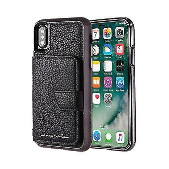 Case-Mate Compact Mirror Wallet Case for Apple iPhone X/XS - Black