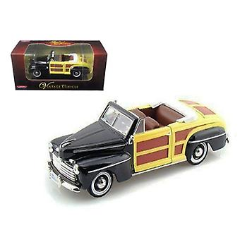 1946 Ford Woody Sportsman Negro 1/32 Diecast Car Model de Arko Products