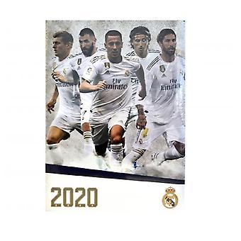 Real Madrid A3 2020 Kalender