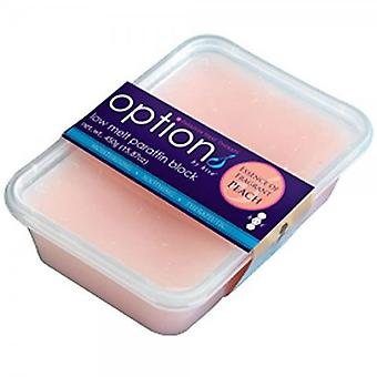 Options Hive Of Beauty Paraffin Wax - Peach