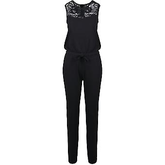 Urban Classics Damen Jumpsuit Lace Block