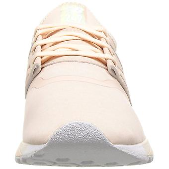 New Balance Womens WRL247EM Low Top Lace Up Running Sneaker