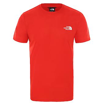 The North Face Urban Exploration Mäns T-shirt Reaxion Red Box