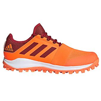 adidas Divox 1,9S Mens Field Hockey Tränare Sko Orange