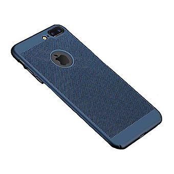 الاشياء المعتمدة® اي فون 8 - الترا سليم حالة الحرارة تبديد غطاء كاس القضية الأزرق