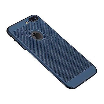 Stuff Certified® iPhone 8 - Ultra Slim Case Heat Dissipation Cover Cas Case Blue