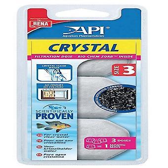 API кристалл T.3 3 дозы (рыба, Фильтры & водяные насосы, фильтр Губка пены)