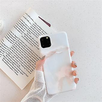 Mobile shell for iPhone11 with unique marble pattern