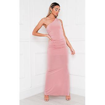 IKRUSH Womens Naomi One Shoulder Bodycon Maxi Dress