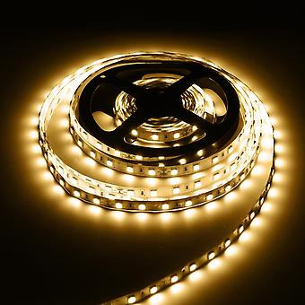 5m 60w 5050 smd non-waterproof 300leds strip light pure white warm white dc24v