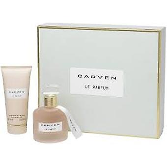 Carven L'Eau de Toilette Gift Set 50ml EDT + 100ml Body Cream