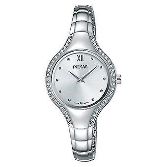 Pulsar damer analog klokke med metall belagt stål PM2227X1