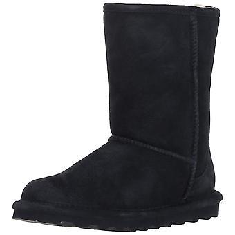 Bearpaw 妇女艾尔闭合脚趾中小牛冷的天气靴