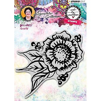 استوديو الخفيفة التشبث ختم الطابع الرسام زهرة الفن من قبل مارلين 3.0 nr.32 STAMPBM32