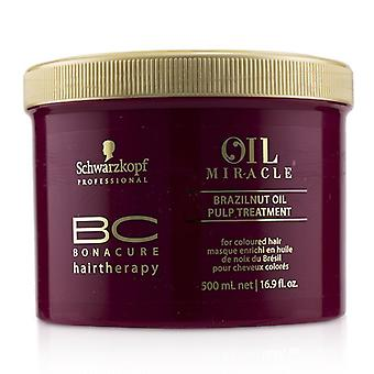 Schwarzkopf BC Bonacure Oil Miracle Brazilnut Oil Pulp Treatment (For Coloured Hair) 500ml/16.9oz