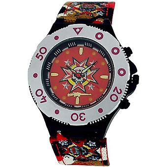 Call Of Duty Boy's Red Cameo AK47 Icon Analogue Watch