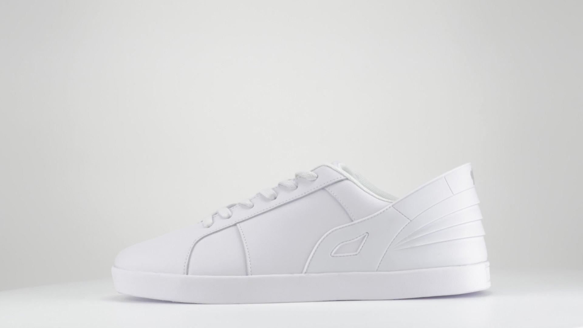 Triesti Designer Leather Sneakers -Single Colour