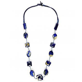 Nouv-Elle Translucent Pebble Necklace
