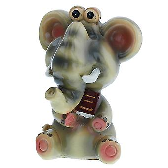 The Olivia Collection Comic Novelty Special Baby Elephant Specs/Eyeglass Holder Ornament SC1735