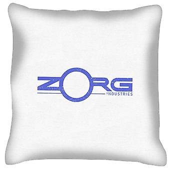 The Fifth Element Zorg Industries Logo Cushion