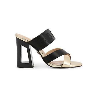 Laura Biagiotti - sko - sandal - 6297_MATT_BLACK - damer - sort, guld - EU 41