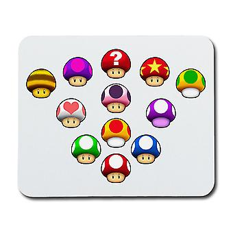 Mario Sponges Mouse Pad