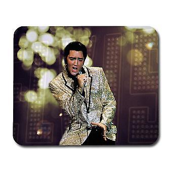 Elvis Presley pe scena Mousepad
