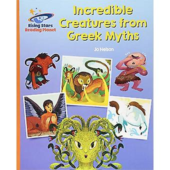 Reading Planet - Incredible Creatures from Greek Myths - Orange - Gala
