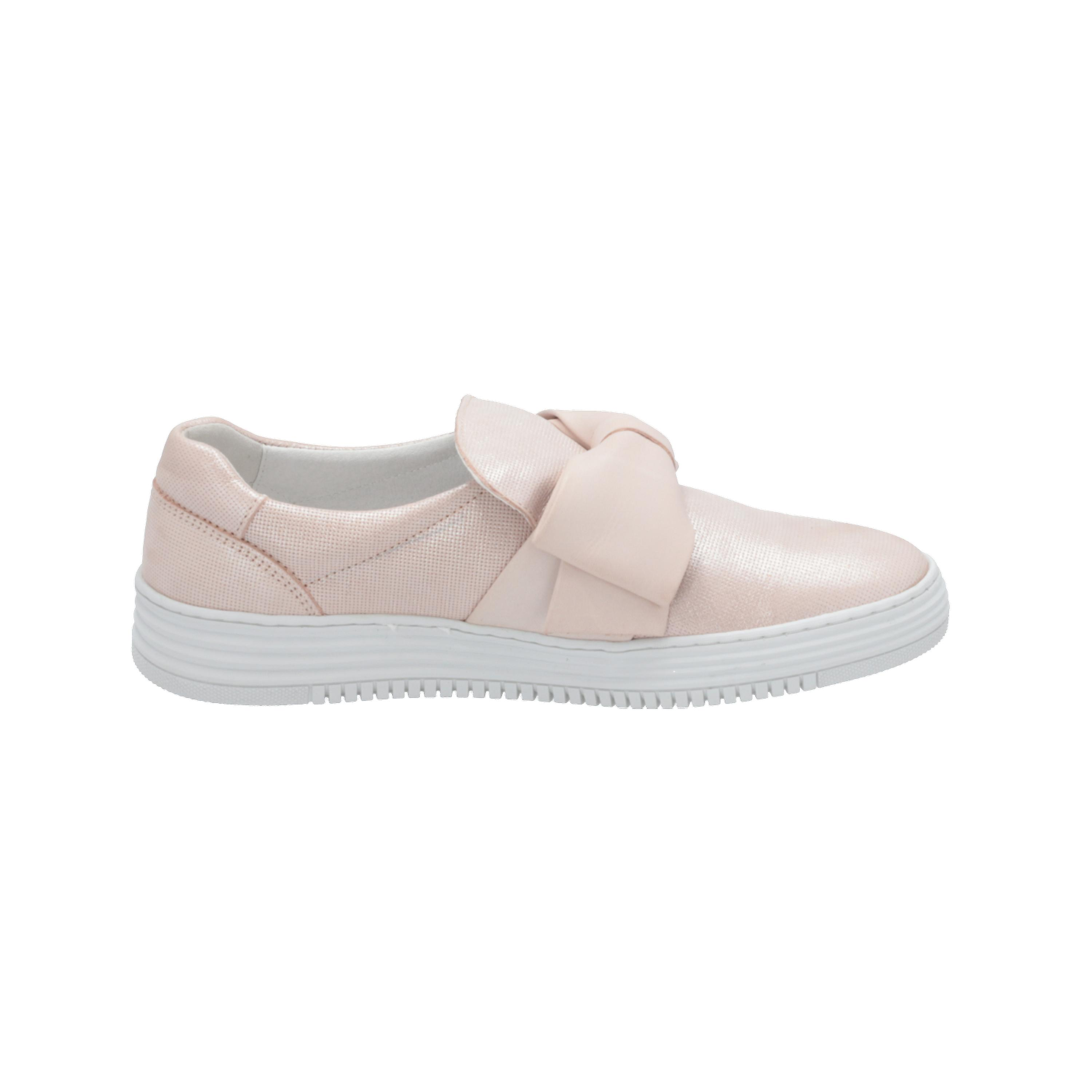 Bullboxer 420008E5L Women's Loafer Pink Slip-Ons Business Shoes