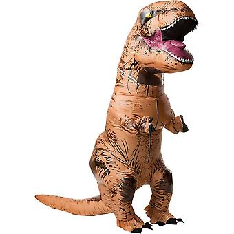 Costume adulte gonflable de T-Rex avec son