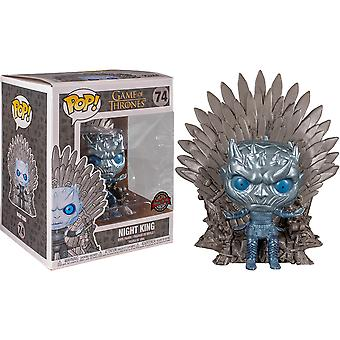 Game of Thrones Night King Throne Metallic US Excl Pop! Dx