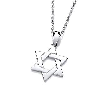 David Deyong Sterling Silver Classic Star Of David Necklace