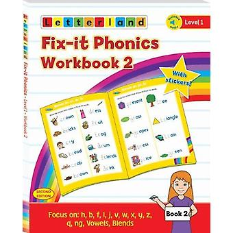 Fix-it Phonics - Level 1 - Workbook 2 (2nd Edition) by Lisa Holt - 97