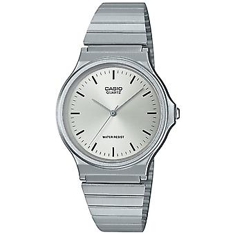 Casio Collection Quartz Silver Resin Case Steel Bracelet Ladies Watch MQ-24D-7EEF