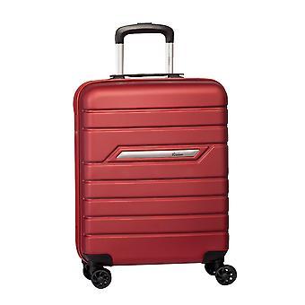 Fabrizio Worldpack Runway Mano Bagaglio Trolley S, 4 Ruote, 55 cm, 38 L, Rosso