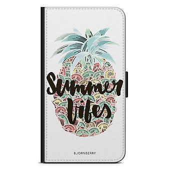 Bjornberry Portefeuille Case Moto G5 Plus - Vibes d'été