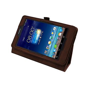 "Magnetic PU Leather Case Cover voor Asus FonePad 7 ME175CG 7""[Bruin]"