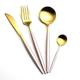 Cutlery Set Elegant Tableware Forks Knives