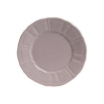 Piatti Katrina Colore Bianco in Stoneware, L20xP20 cm