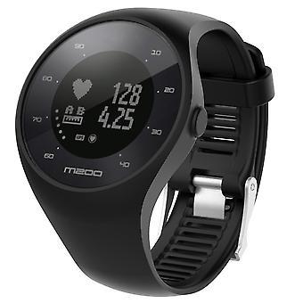 Armband für Polar M200 Silikon schwarz
