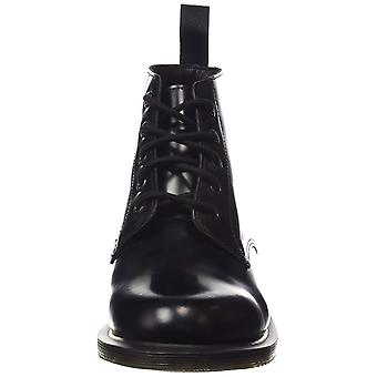 Dr. Martens Womens Emmeline Round Toe Ankle Combat Boots