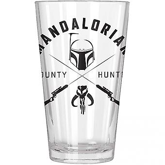 The Mandalorian Bounty Hunter Pint Glass