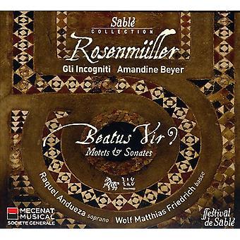 J. Rosenmuller - Rosenmuller: Beautus Vir [CD] USA import