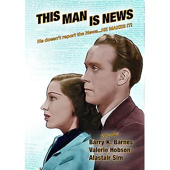 This Man Is News [DVD] USA import