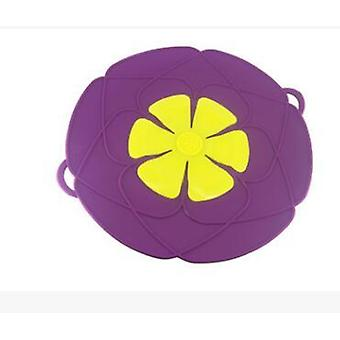 Silicone Lid Spill Stopper Flower Cookware Cover For Pot Pan - Kitchen Accessories Cooking Tools