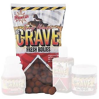 Dynamite Terry Hearn'S Crave Boilies 1Kg 18mm Natural