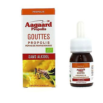Non-alcoholic drops Propolis, grapefruit seeds 30 ml